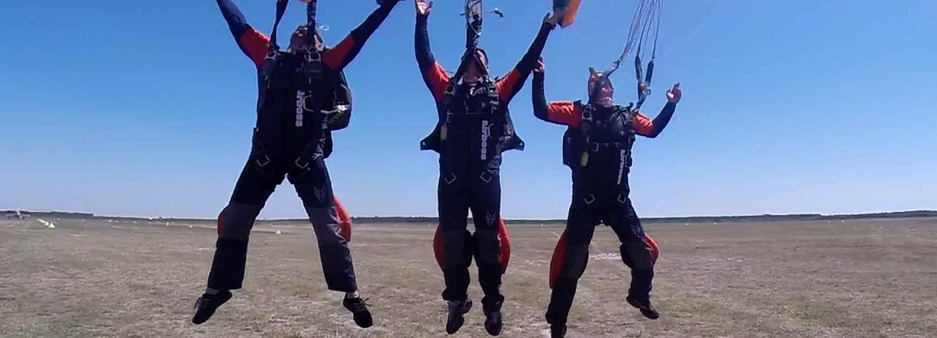 Waar kan ik skydiven