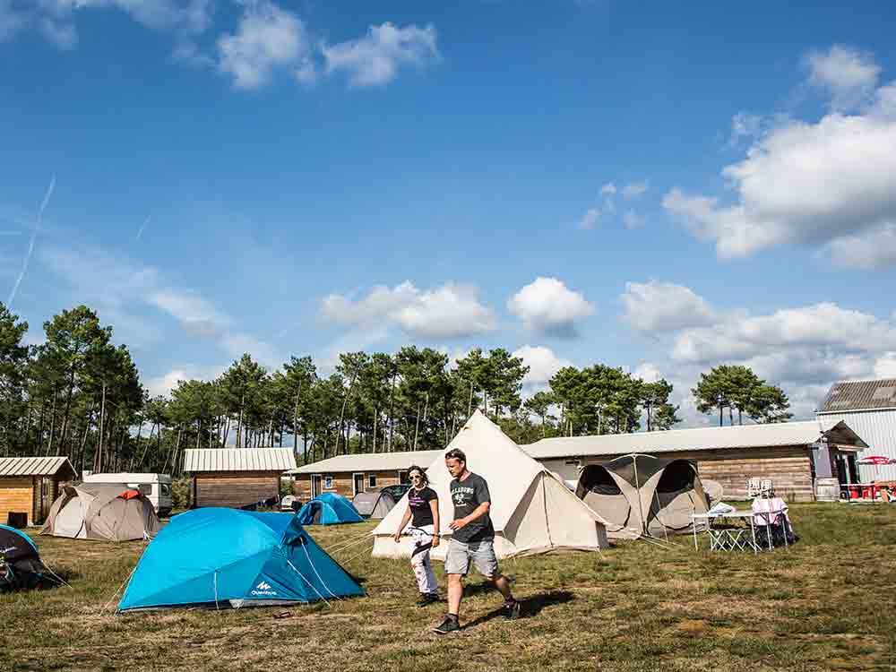Camperen in Mimizan