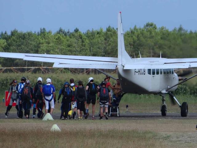 Skydiven Frankrijk