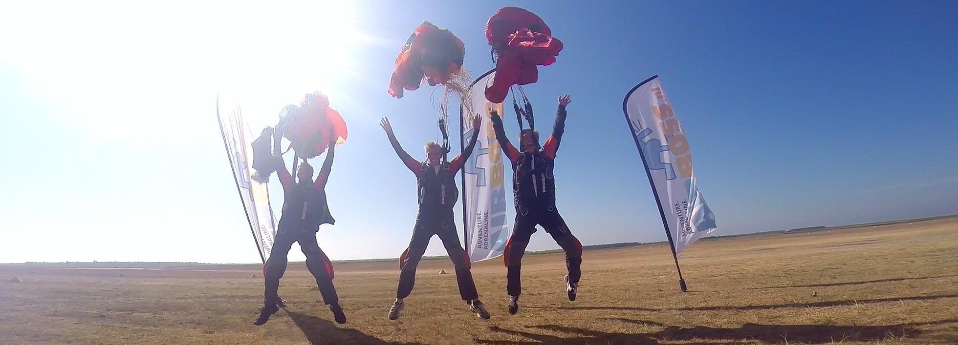 Skydive opleiding Frankrijk
