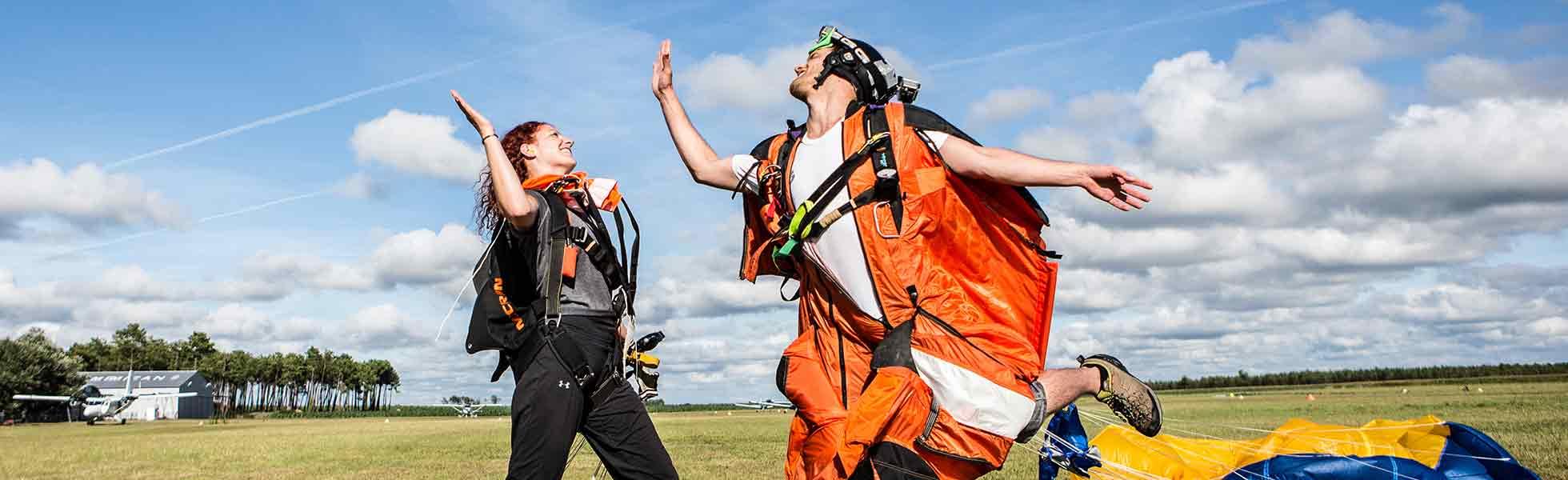 Skydive opleiding Franrkijk