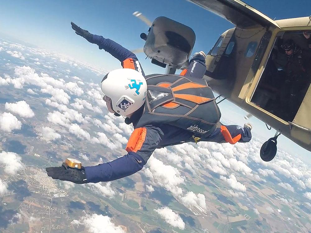 Skydive cursus Spanje