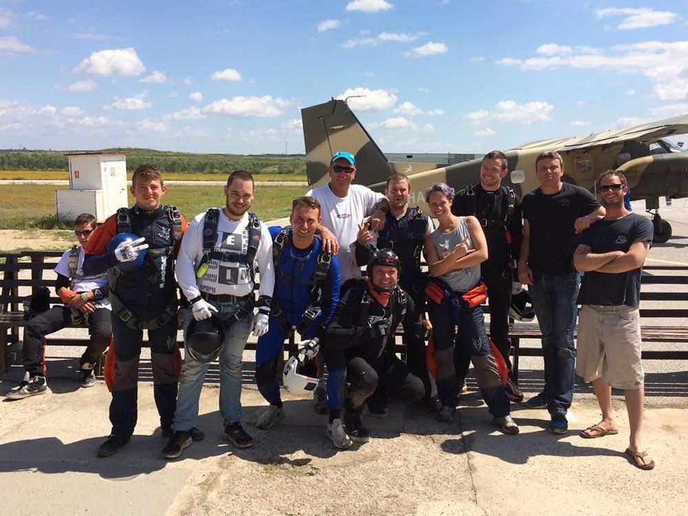 Skydiven Spanje