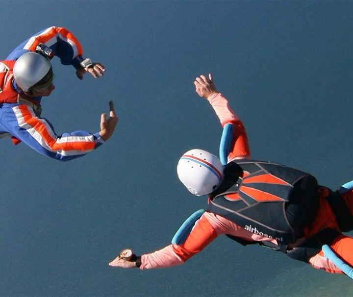 A-Brevet cursus parachutespringen
