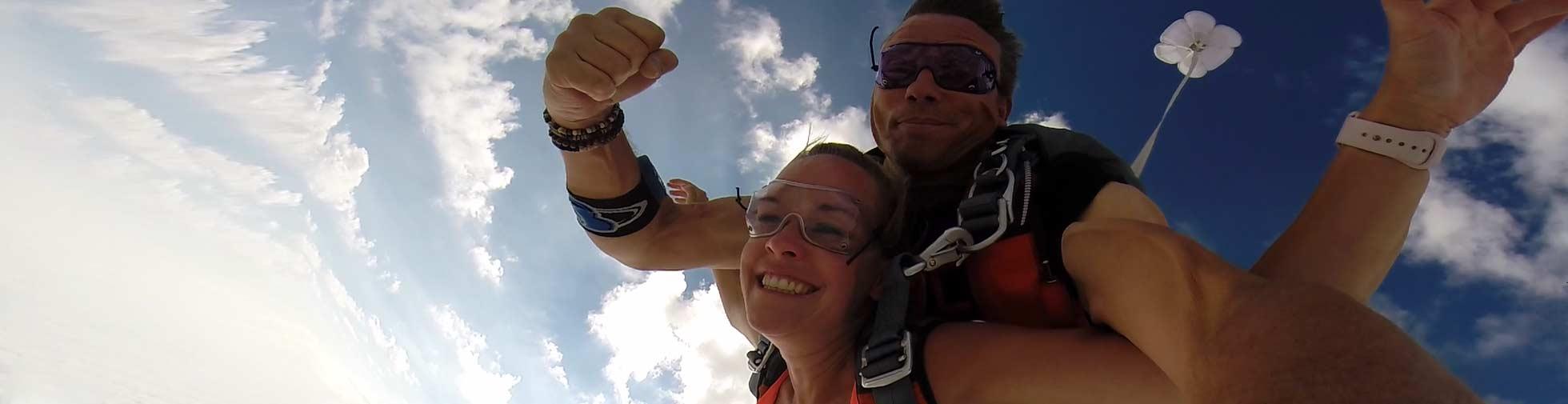 Tandem Parachutesprong Mimizan